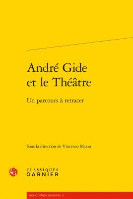 André Gide et le théâtre. Couverture