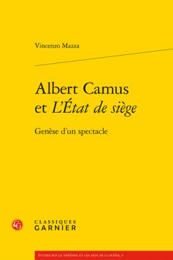 couverture Vincenzo Mazza Camus et l'etat de siege